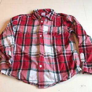 Gymboree Long Sleeved Button Down Dress Shirt